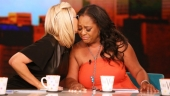 Sherri Shepherd, Jenny McCarthy All Smiles After View Departure Announcement